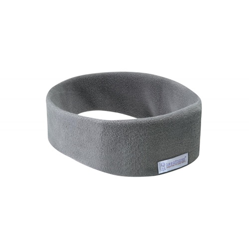 SleepPhones® Wireless v7 Fleece Soft Gray - Large/Extra Large
