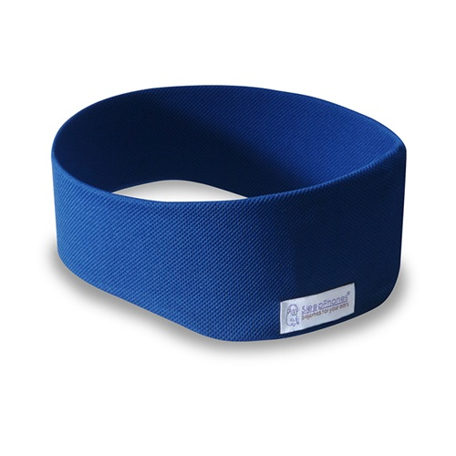 SleepPhones® Draadloos v7 Breeze Royal Blue/Donkerblauw - Medium
