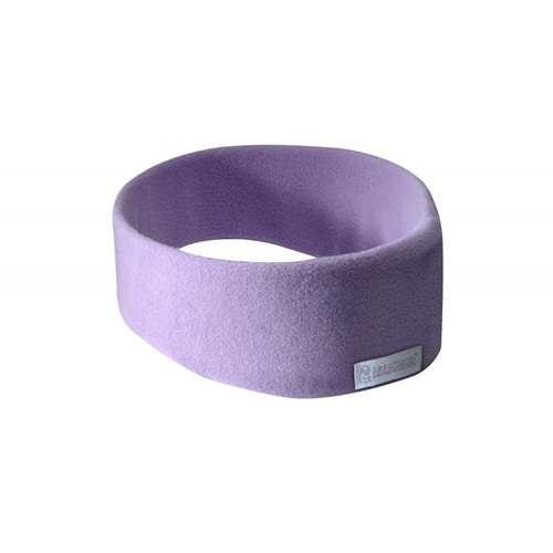 SleepPhones® Wireless v7 Fleece Quiet Lavender - Large/Extra Large