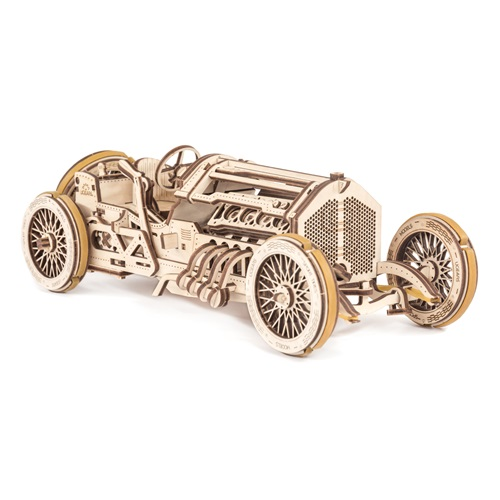 Ugears Wooden Model Kit - U-9 Grand Prix Car