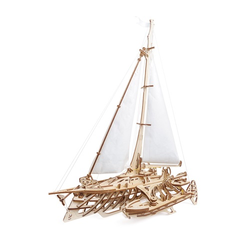 Ugears Wooden Model Kit - Trimaran Merihobus