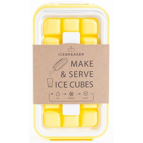 DesignNest IceBreaker Pop - Eiswürfelbehälter - Gelb
