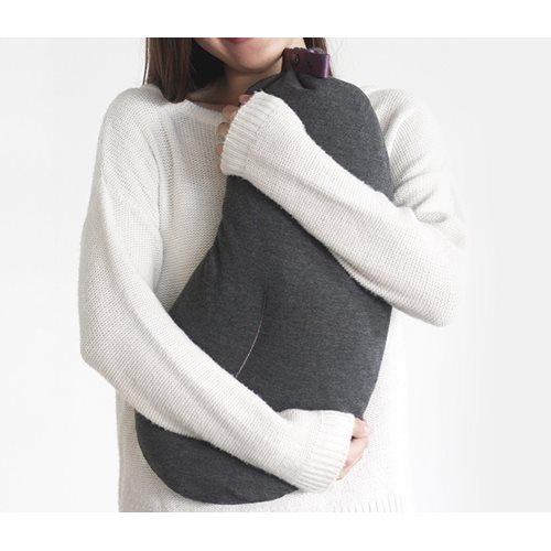 DesignNest Aubergine Pillow - Aufblasbares Reisekissen