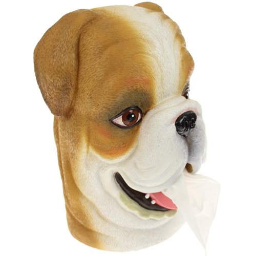 Rotary Hero Bulldog Tissue box Holder