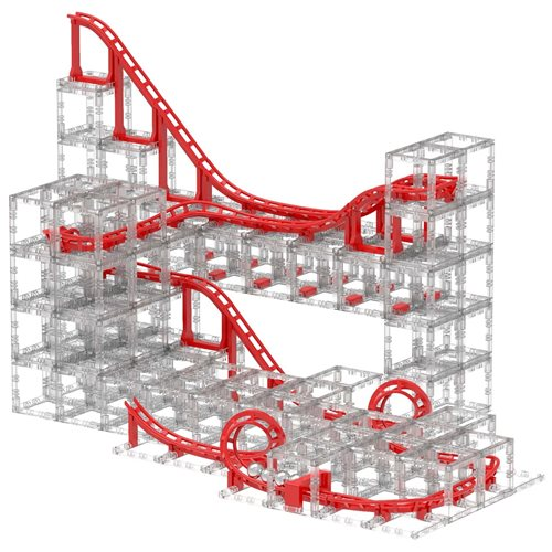 DesignNest MagnetCubes CoasterCubes - Knikkerbaan - Gevorderden pakket