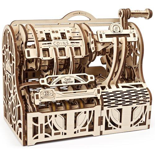 Ugears Wooden Model Kit - Cash Register