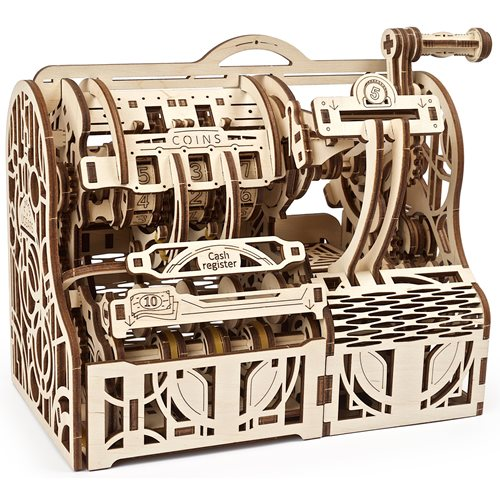 Ugears Wooden Model Kit - Cash Register