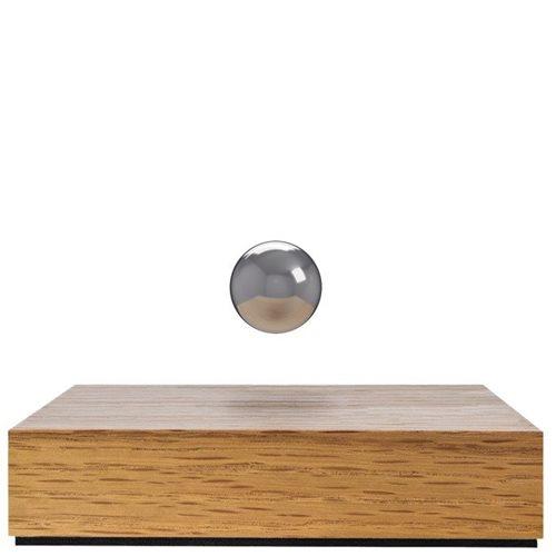 FLYTE Buda Ball - Oak Base with Chrome Sphere