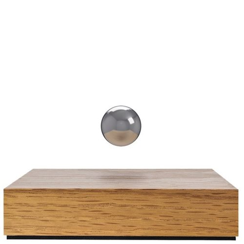 FLYTE Buda Ball - Oak Base with Chrome Sphere