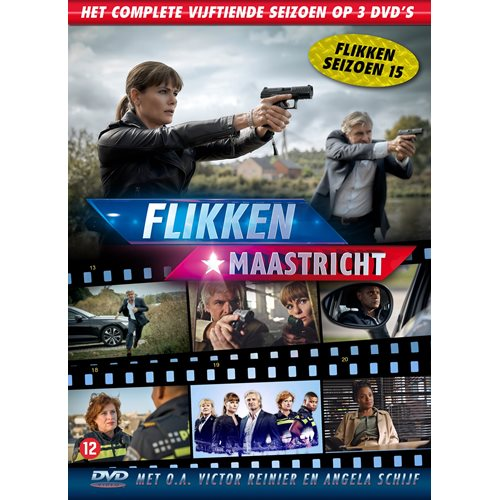 Flikken Maastricht Seizoen 15 - DVD