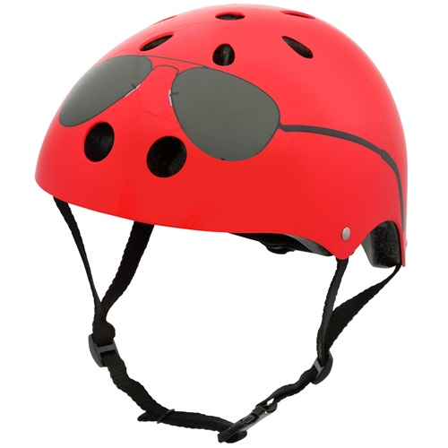 Mini Hornit Lids Bike Helmet for Kids - The Aviator (S)