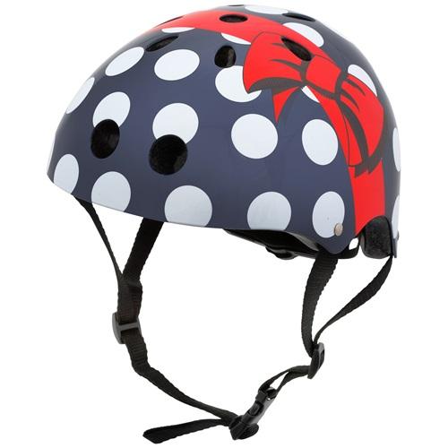Mini Hornit Lids Bike Helmet for Kids - Polka Dot (S)