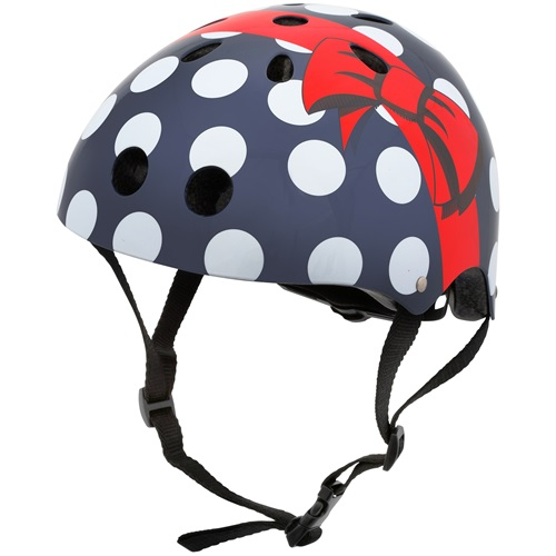 Mini Hornit Lids Bike Helmet for Kids - Polka Dot (M)