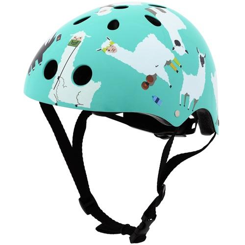 Mini Hornit Lids Bike Helmet for Kids - Lazy Llama (S)