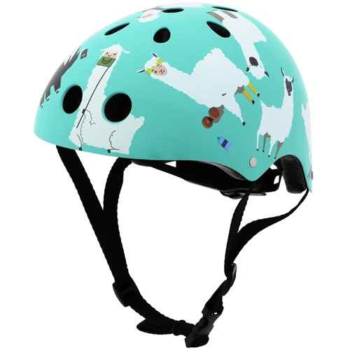 Mini Hornit Lids Bike Helmet for Kids - Lazy Llama (S)