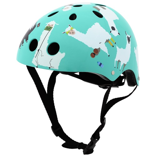 Mini Hornit Lids Bike Helmet for Kids - Lazy Llama (M)