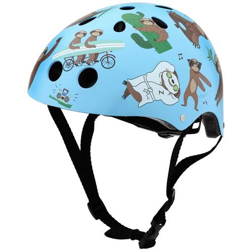 Mini Hornit Lids Bike Helmet for Kids - Super Sloth (M)