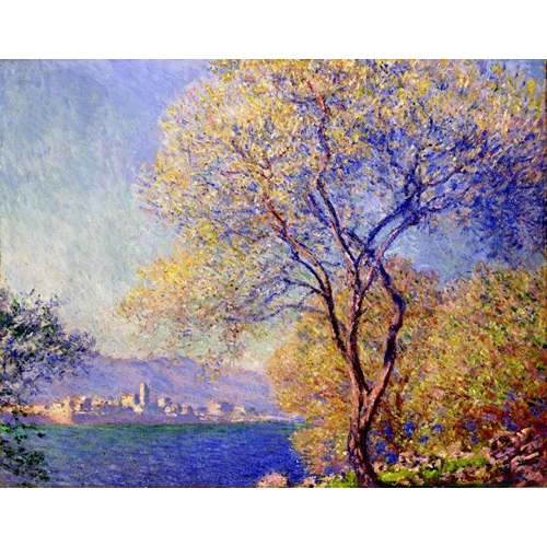 Best Pause Antibes Seen from Salis Gardens by Claude Monet - Paint by number - 40x50 cm - DIY Hobby Kit