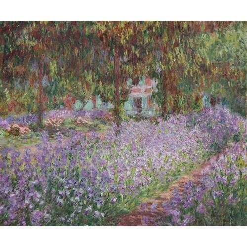 Best Pause Irises von Claude Monet - Malen nach Zahlen - 40x50 cm - DIY Kit
