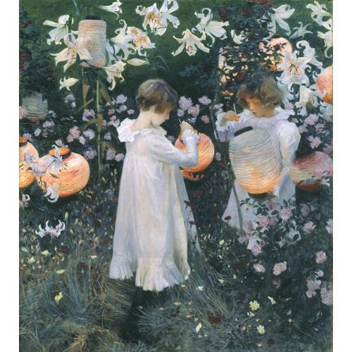 Best Pause Nelke, Lilie, Lilie, Rose von John Singer - Malen nach Zahlen - 40x50 cm - DIY Kit