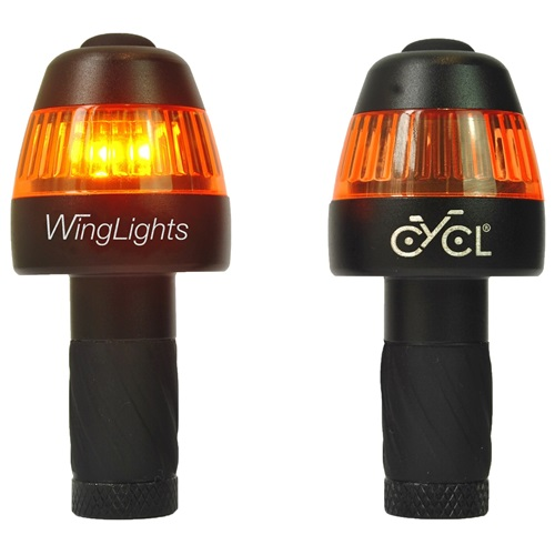 CYCL WingLights Fixed v3 - LED Lights for Bicycles