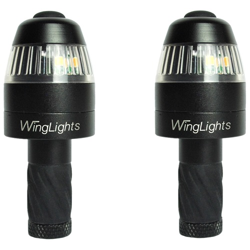 CYCL WingLights360 Magnetic - LED Turn Signal & Position Lights for Bicycle  - Black