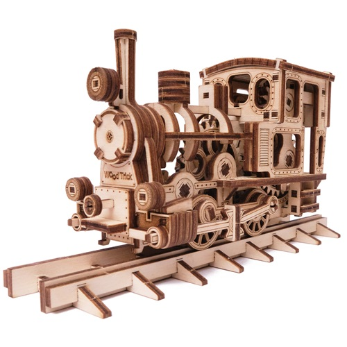 Wood Trick Wooden Model Kit - Chug-Chug Train