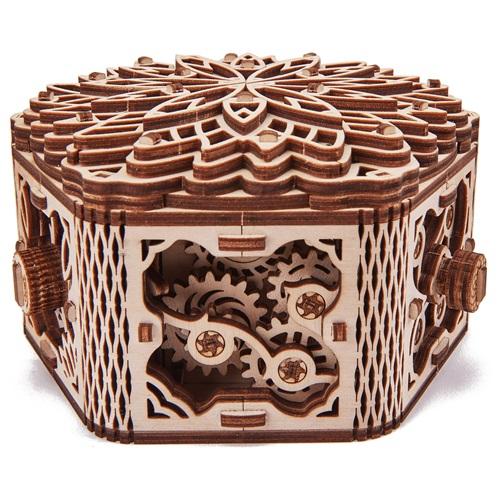 Wood Trick Holz Modell Kit - Geheimnis Blume