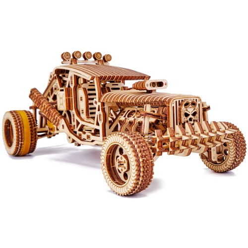 Wood Trick Krankzinnige Buggy - Houten Modelbouw