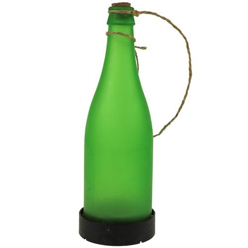 United Entertainment Garden Solar Light Bottle - Green