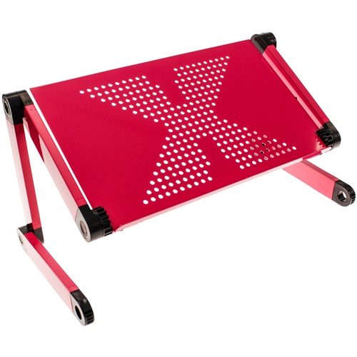 United Entertainment Multifunctional Laptop Stand - Dark Pink