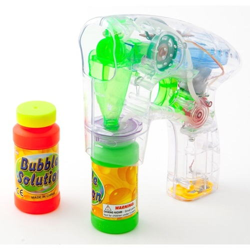 United Entertainment Bubble Gun with Light and Sound