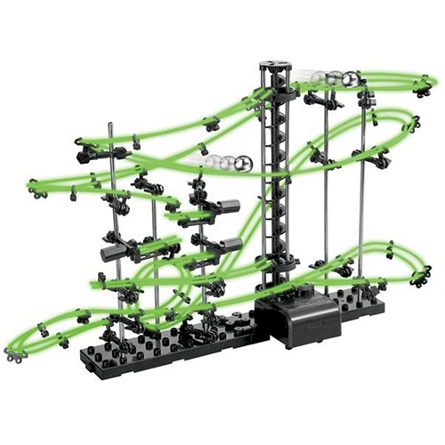 United Entertainment Spacerail Ball path Roller coaster - Level 2 Glow in the Dark