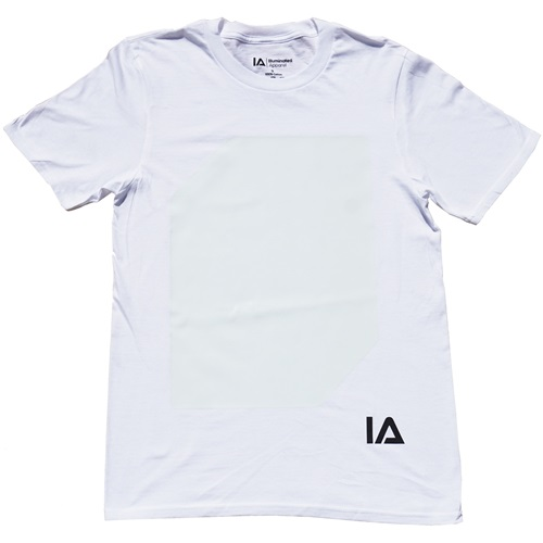 IA Interactive Glow T-Shirt for Kids - Super Green Glow - White 12-14 years