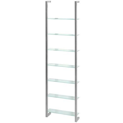 Spinder Design Cubic Wall rack with 7 Shelves - Nickel