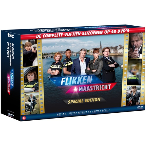 Flikken Maastricht Seizoen 1 t/m 15 - 48 DVD
