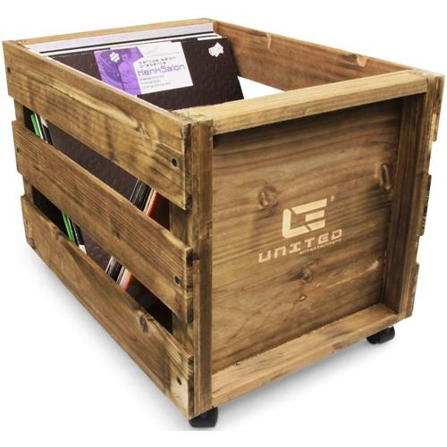 United Entertainment - LP Wooden Crate