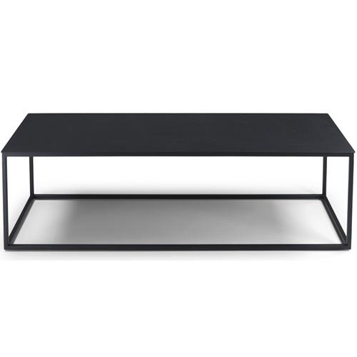 Spinder Design Store Couchtisch 120x40x35 - Schwarz
