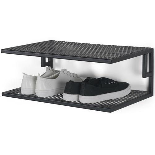 Spinder Design Mesh SR 50 Shoe Rack 51x29.5x18.5 - Black