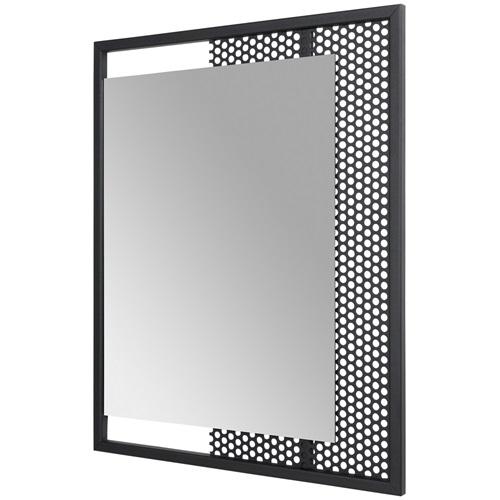 Spinder Design Mesh Spiegel 45x55 - Zwart
