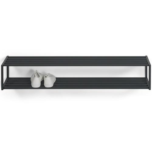 Spinder Design School SR 120 Shoe Rack 118x30.5x20.5- Black