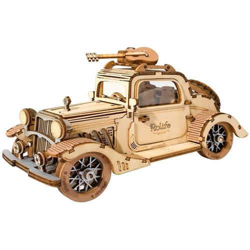 Robotime Vintage Auto TG504 - Houten modelbouw