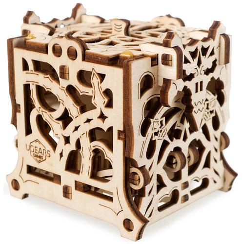 Ugears Wooden Model Kit - Dice Keeper