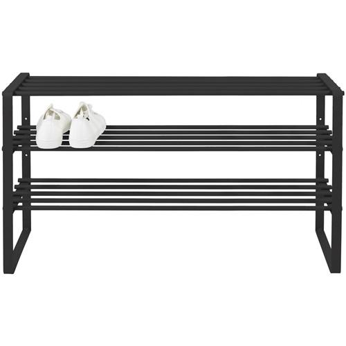 Spinder Design Rex SR 2 - 100 Shoe Rack 100x45.5x29 - Black