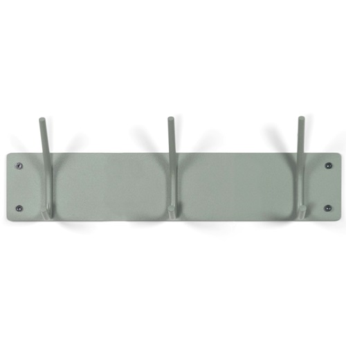 Spinder Design Fusion Wall Coat rack with 3 hooks 40x6x11.5 - Dusty Green